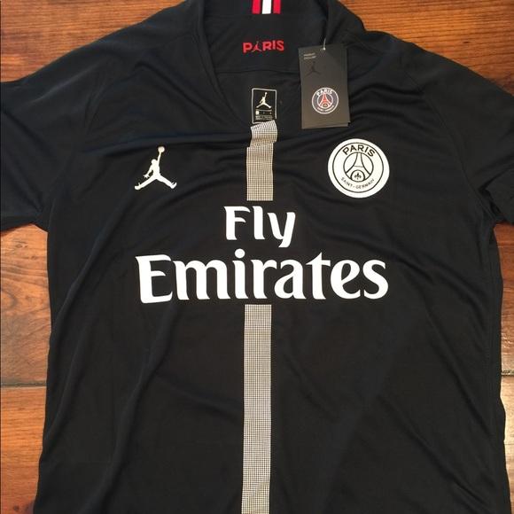 62dc179400db4e Neymar PSG Jordan Jersey Black Third Kit